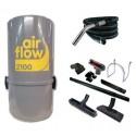 AirFlow 2100w  ou 400 M2 max set / 8m Aspirateur centralisé