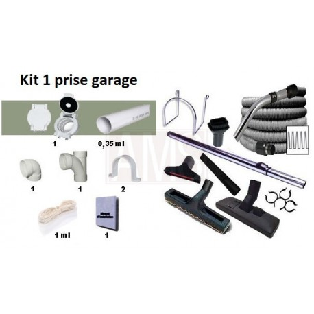 Pack flexible direct + kit 1 prise garage