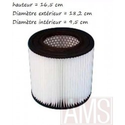 Filtre aspiramatic 16.5 cm cellulos