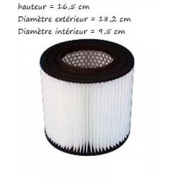 Filtre aspiramatic 16.5 cm polyester