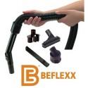 Pack flexible extensible noir 1.5 à 6 mètres Beflexx