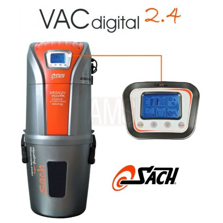 Centrale d'aspiration SACH Vac Dynamic 2.4