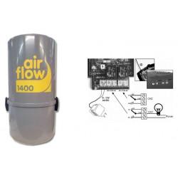 AirFlow 1400w type Aldes Aspirateur centralisé