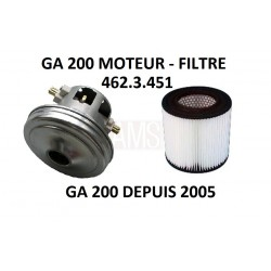 MOTEUR + FILTRE GA200 DEPUIS 2005