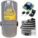 Pack Airflow 2100w + émetteur-récepteur + Flexible