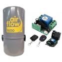 Pack AirFlow 1600w + émetteur - récepteur