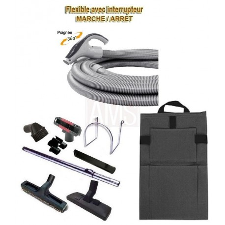 Flexible on- off + Porte accessoires + Brosses