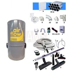 Pack AirFlow 2100w + Kit 5 prises + Trousse Flexibles