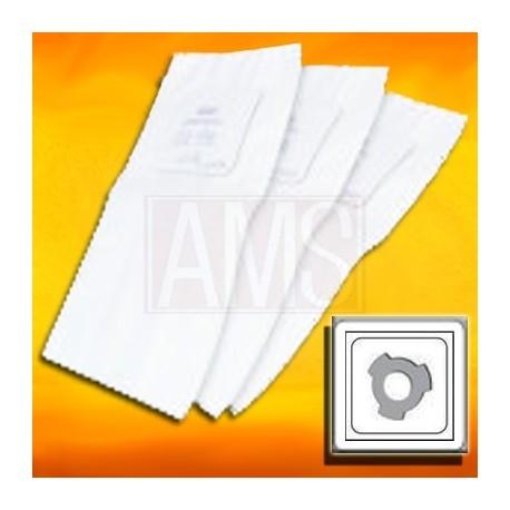 3 sacs type Cyclovac à 3 crans + 1 filtre rond pour modèle GS115