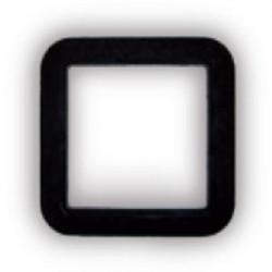 Cadre noir carrée prise