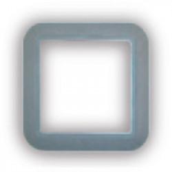 Cadre gris clair carrée prise