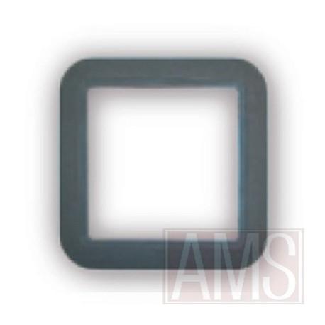 Cadre gris foncé carrée prise